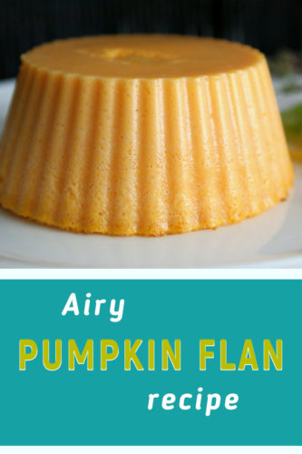 Easy pumpkin flan recipe