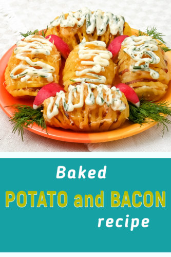 Baked potato recipe bacon and cheese