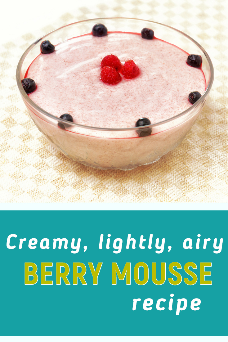 Berry mousse recipe without gelatin