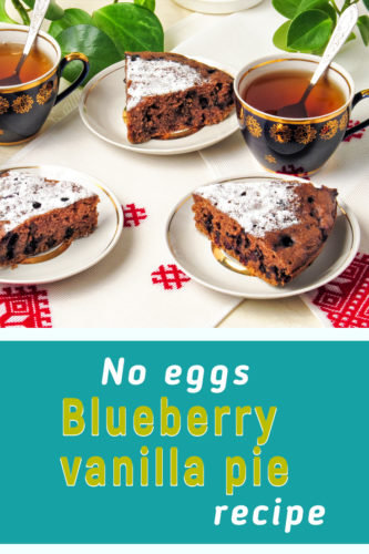 Blueberry pie recipe easy
