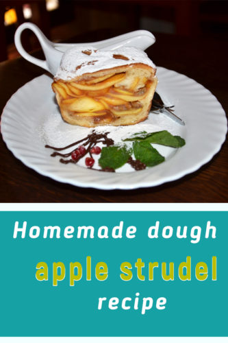 Apple strudel recipe homemade dough