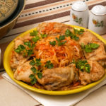 Cabbage and chicken recipe in MultiCooker