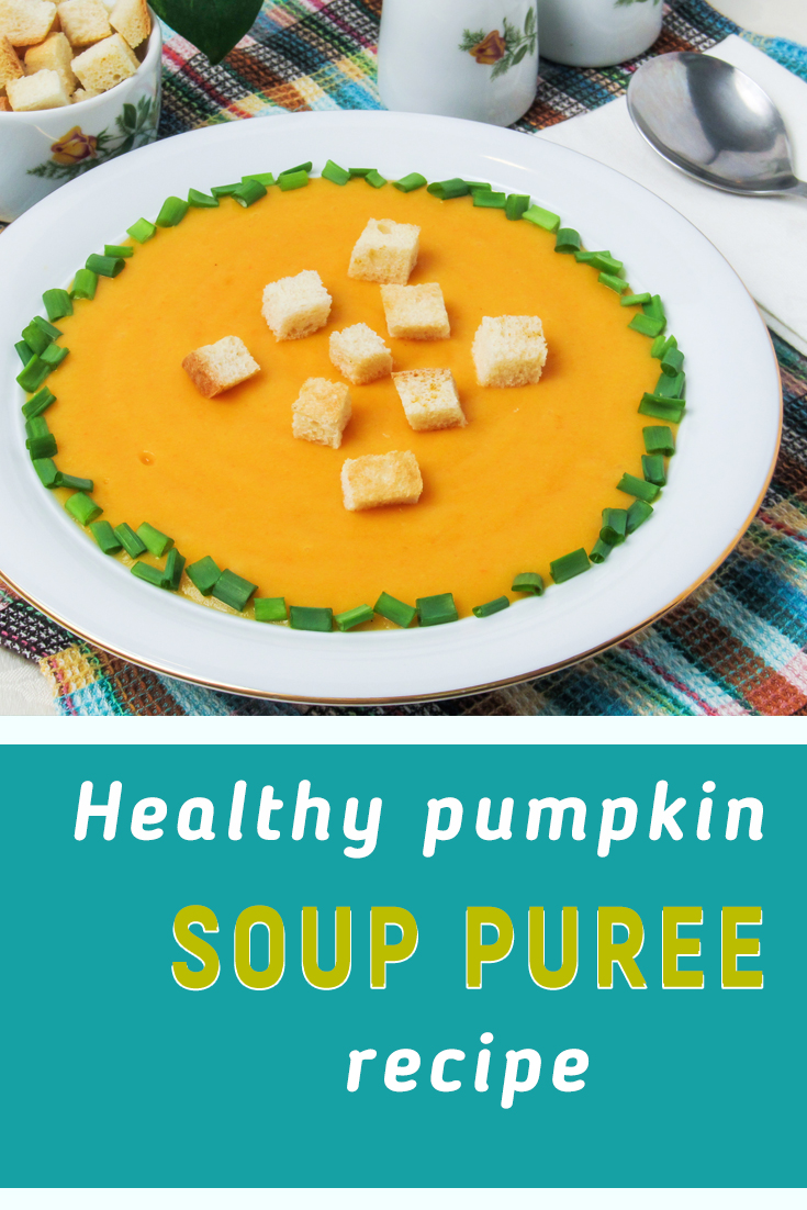Easy pumpkin puree soup recipe