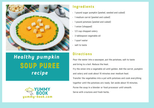 Pumpkin soup puree recipe