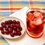 Cherry iced green tea recipe