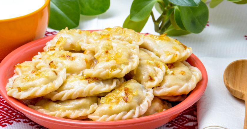 Filled potato dumplings recipe
