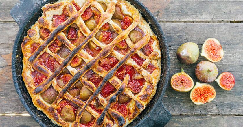 Fresh fig pie recipe