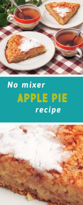 homemade apple pie recipe easy