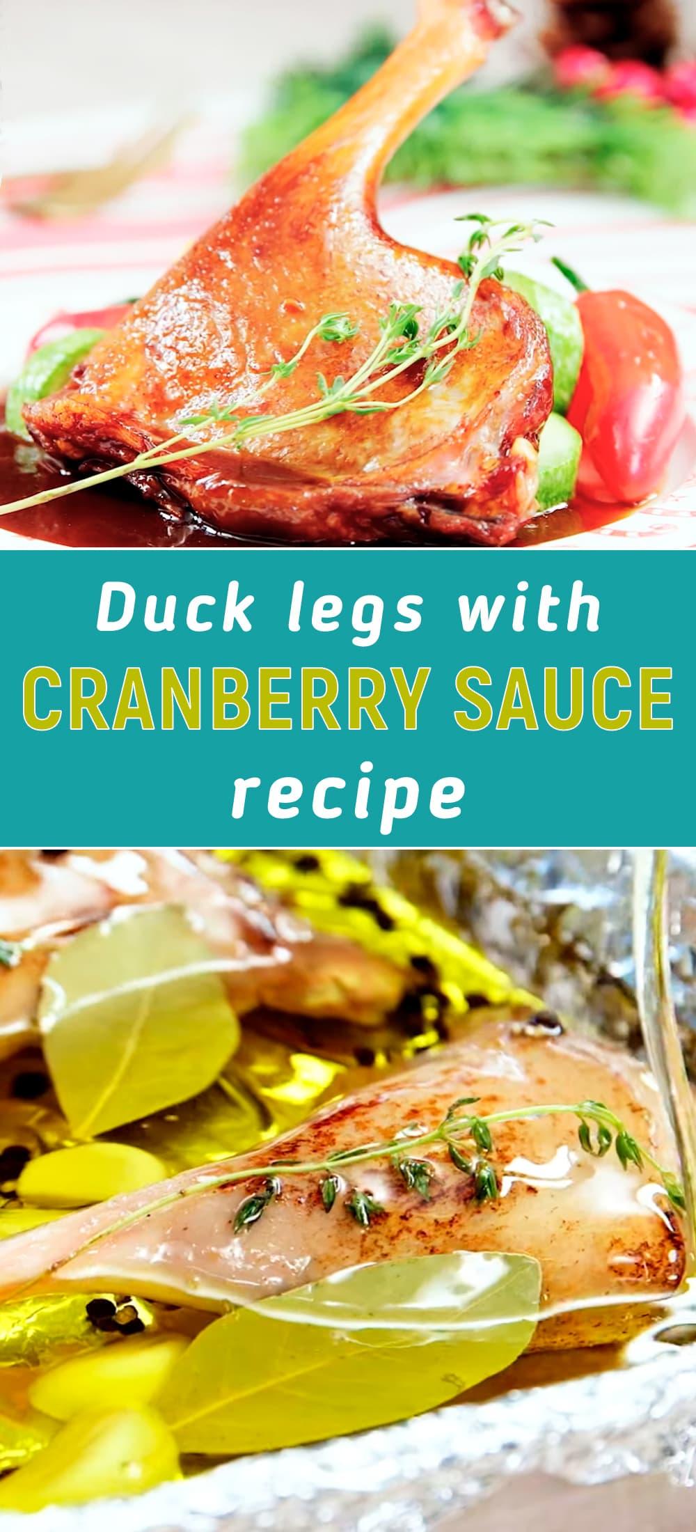 duck leg cranberry recipes